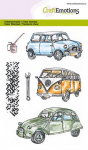 Clear Stamps - Classic Cars 1
