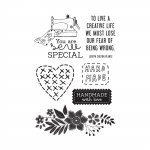 Clear Stamps - Crafternoon