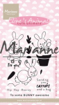 Clear Stamps - Elines Cute Animals Bunnies