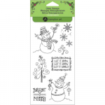 Clear Stamps - Festive Snowmen