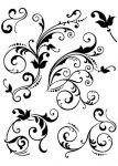 Clear Stamps - Floral Embellishments