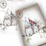Clear Stamps - Gnome Christmas Love