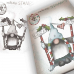 Clear Stamps - Gnome Peace and Joy