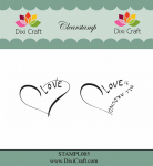 Clear Stamps - Heart Love