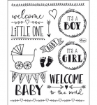Clear Stamps - Hello Baby