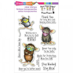 Clear Stamps - House Mouse Masked Mice