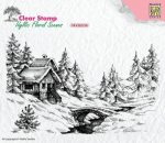 Clear Stamps - Idyllic Flora Winter Scene-1