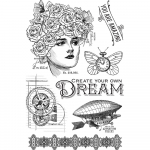 Clear Stamps - Imagine - Dream
