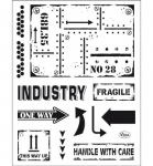 Clear Stamps - Industrial Style