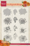 Clear Stamps - Layered Tinys Chrysant