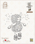 Clear Stamps - Little Lammy Its snowing