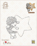 Clear Stamps - Little Lammy Lammy with star
