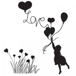 Clear Stamps - Love Is In The Air
