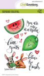 Clear Stamps  - Love Puns 3
