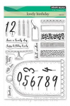 Clear Stamps - Lovely Birthday
