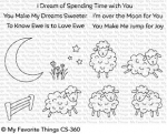 Clear Stamps - Over the Moon for Ewe