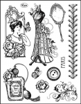 Clear Stamps - Paris Couture