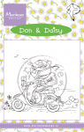 Clear Stamps - Scooting Daisy