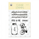 Clear Stamps - The Four Seasons Spring
