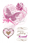 Clear Stamps - Vintage Heart