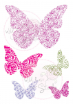Clear Stamps - Wedding Butterflies