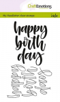 Clear Stamps - happy birth day (Eng)