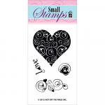 Clear Stamps Mini - Love and Hearts