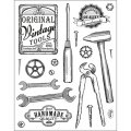 Clear Stamps Vintage Tools