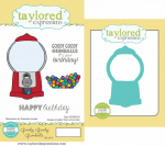 Cling Stamps + Die Combo - Goody Goody Gumballs
