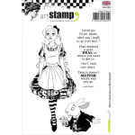 Cling Stamps - Alice in Wonderland