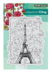 Cling Stamps - April in Paris