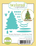 Cling Stamps - Christmas Tree