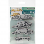 Cling Stamps - Doggone Sweet