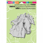 Cling Stamps - Filly Sketch