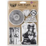 Cling Stamps - Finnabair Trust The Magic