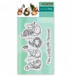 Cling Stamps - Holly Jolly Critters