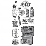 Cling Stamps - Home Sweet Home 1