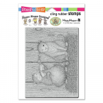Cling Stamps - House Mouse Cat And The Fiddle