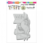 Cling Stamps - House Mouse Get Well Soon