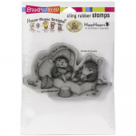 Cling Stamps - House Mouse Heartfelt Chocolates