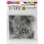 Cling Stamps - House Mouse Squirrel Singers