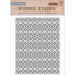 Cling Stamps - Ironwork Background