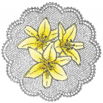 Cling Stamps - Lilies