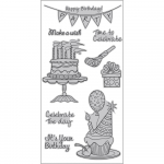 Cling Stamps - Party Time