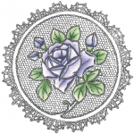 Cling Stamps - Roses