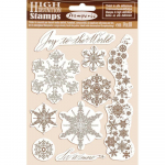 Cling Stamps - Snowflakes, Winter Tales