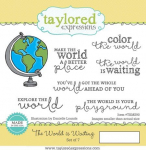 Cling Stamps - The World Is Waiting