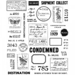 Cling Stamps Tim Holtz - Field Notes