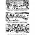 Cling Stamps Tim Holtz - Holiday Scenes
