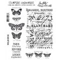 Cling Stamps Tim Holtz - Papillon